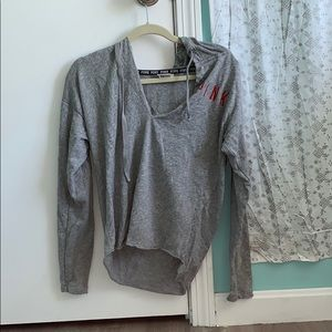 Grey hoodie from PINK